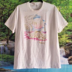 Vintage Florida Glittery & Distressed Tshirt